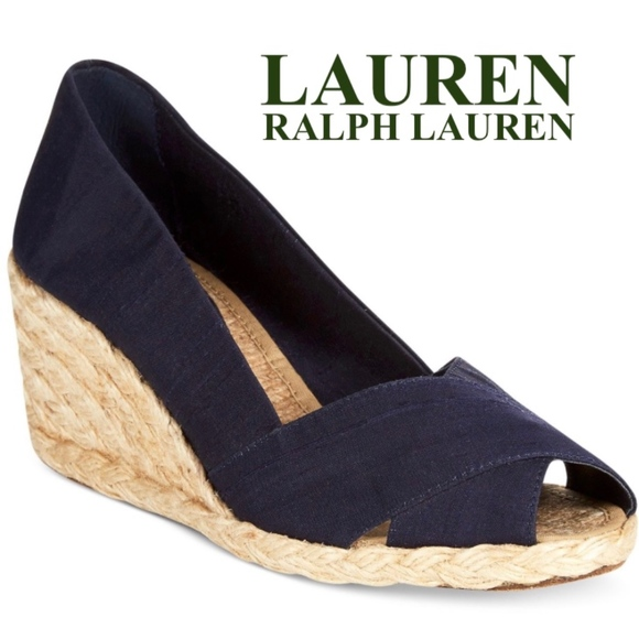 e4998401186 Lauren Ralph Lauren 'Cecilia' Espadrille Wedge 7